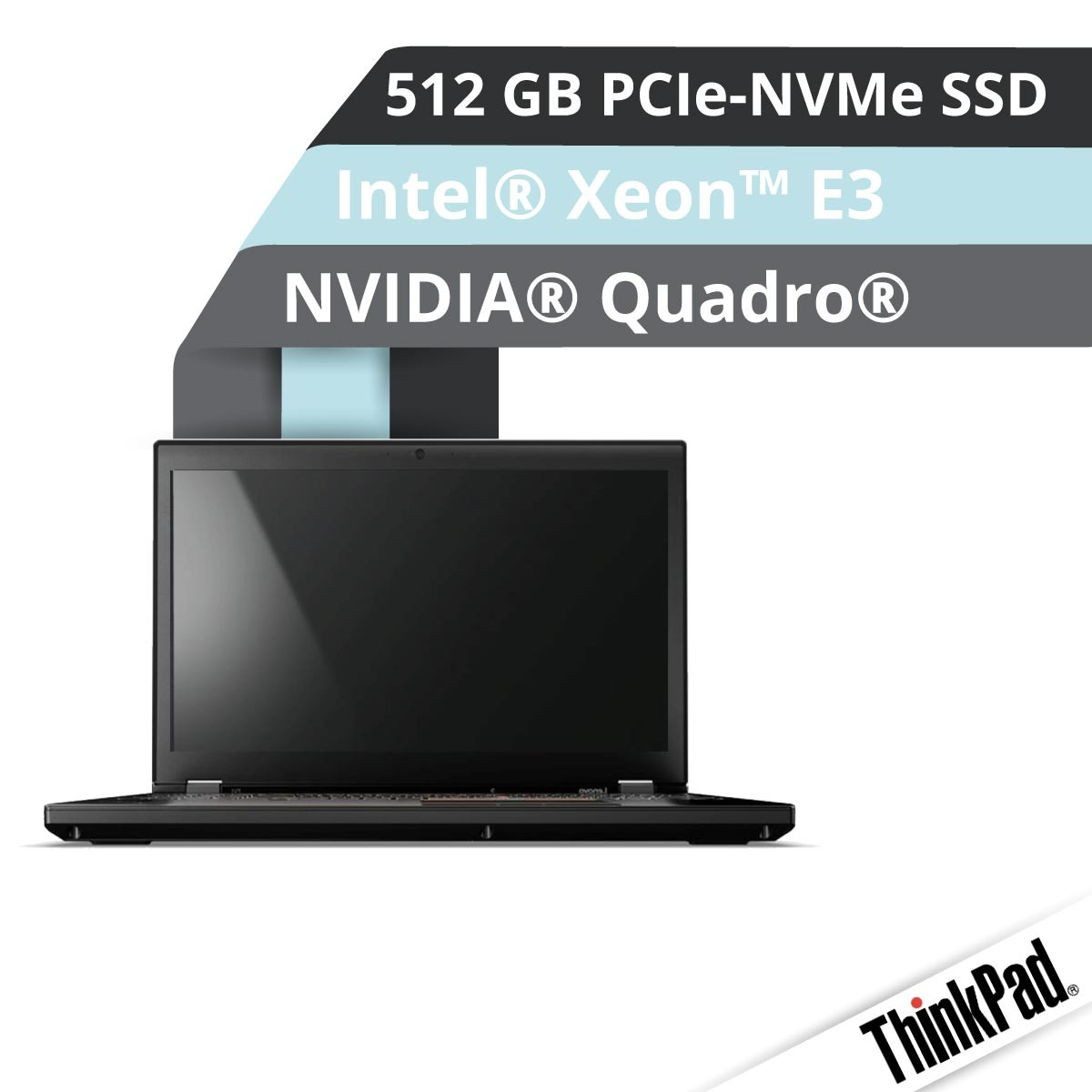 (EOL) Lenovo™ ThinkPad® P51 Workstation Modell 20HJ-S27H