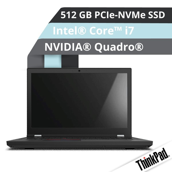 Lenovo™ ThinkPad® P15 (Gen.2) Notebook Modell 20YQ-0014