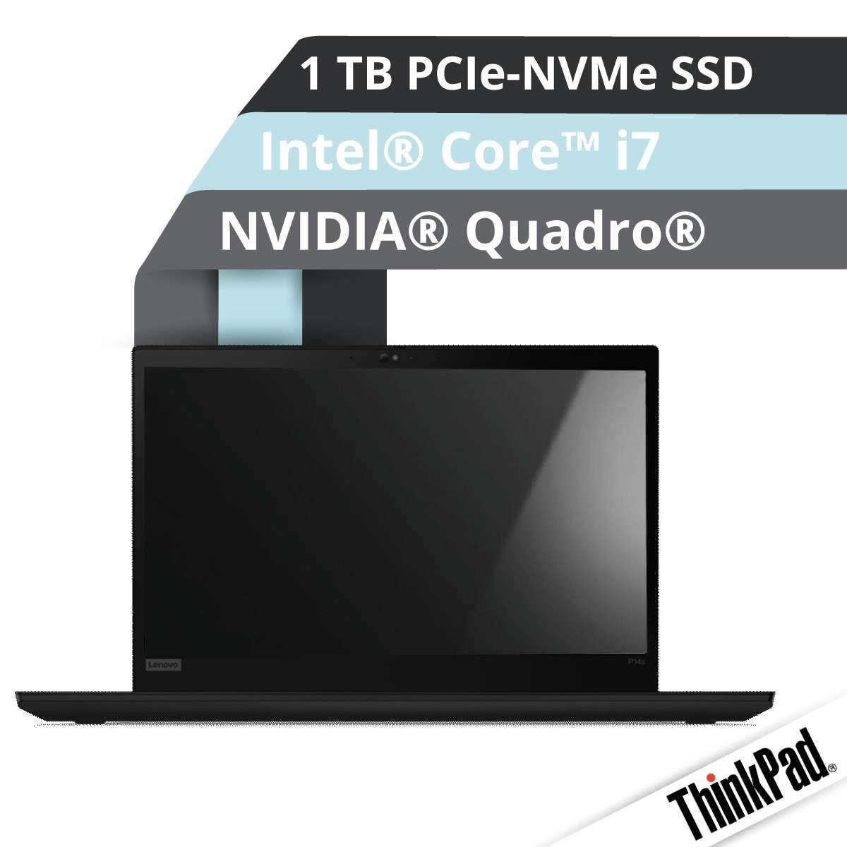 (EOL) Lenovo™ ThinkPad® P14s Notebook Modell 20S4-000R