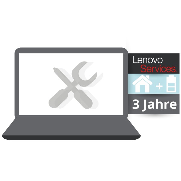 LENOVO™ ThinkPlus® 3 Jahre Vor-Ort-Service (NBD) + Sealed Battery Replacement