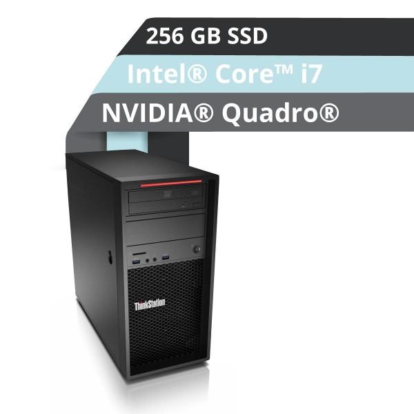 Lenovo™ ThinkStation® P320 Tower Workstation Modell 30BH-0009