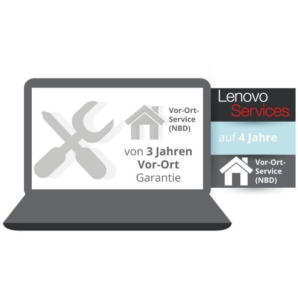 Lenovo Garantieerweiterung auf 4 Jahre Vor-Ort Service