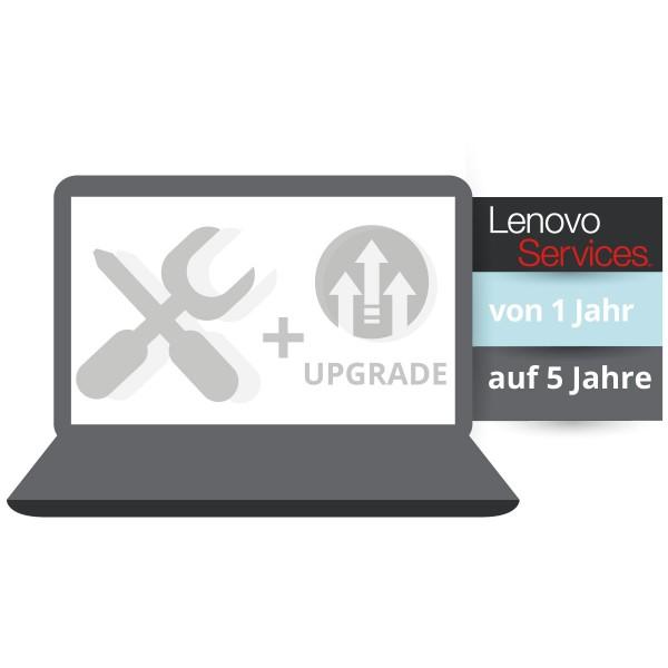 Lenovo™ Garantie-Upgrade - 5 Jahre Bring-In Garantie - Basisgarantie 1 Jahr Bring-In