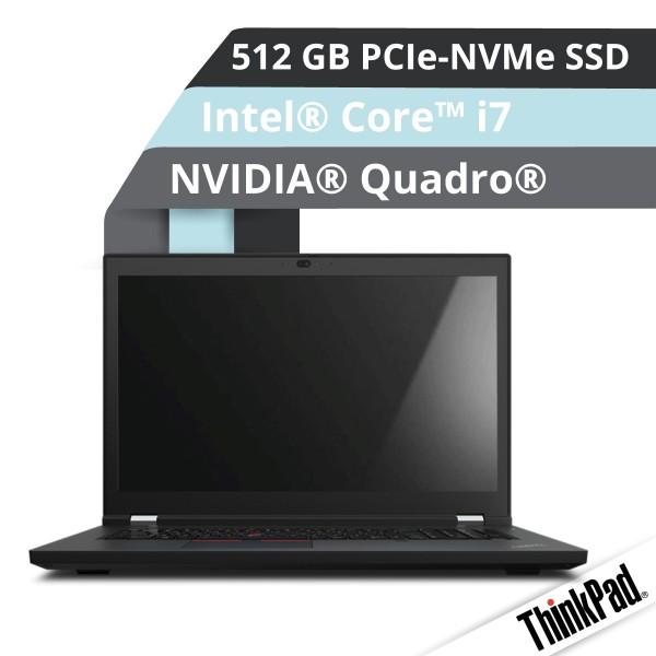 Lenovo™ ThinkPad® P17 (Gen.2) Notebook Modell 20YU-0025