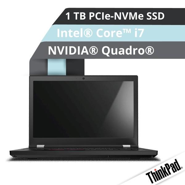 Lenovo™ ThinkPad® P15 Notebook Modell 20ST-001C
