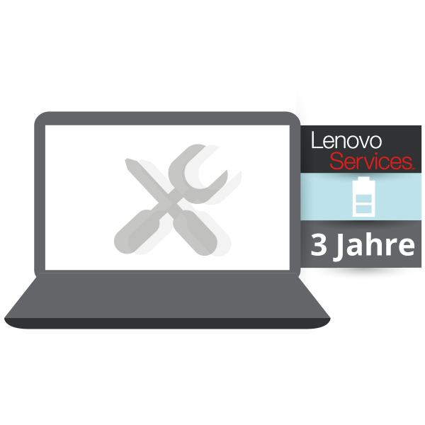 Lenovo™ Garantie Upgrade - 3 Jahre Sealed Battery Replacement Service