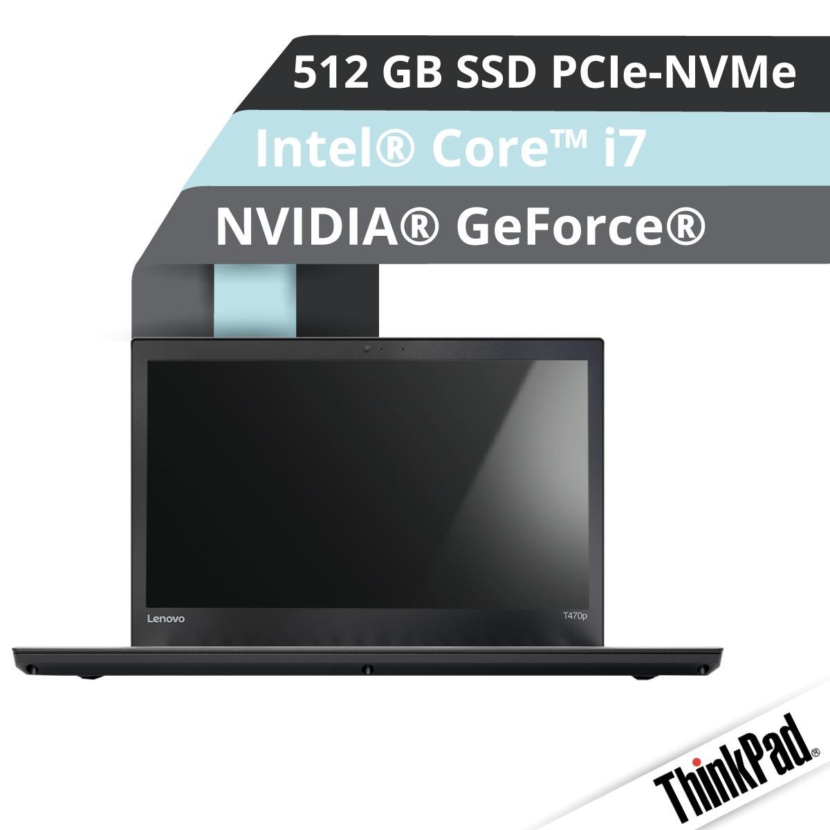 (EOL) Lenovo™ ThinkPad® T470p Notebook Modell 20J6-003D