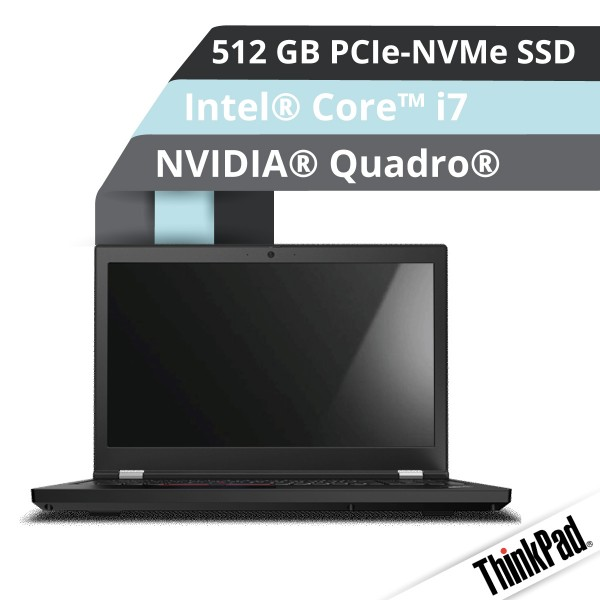 Lenovo™ ThinkPad® P15 Notebook Modell 20ST-000B