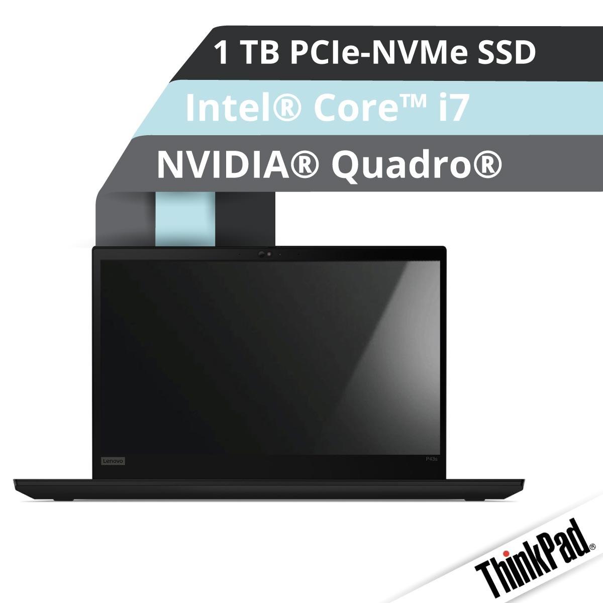 (EOL) Lenovo™ ThinkPad® P43s Workstation Modell 20RH-0015