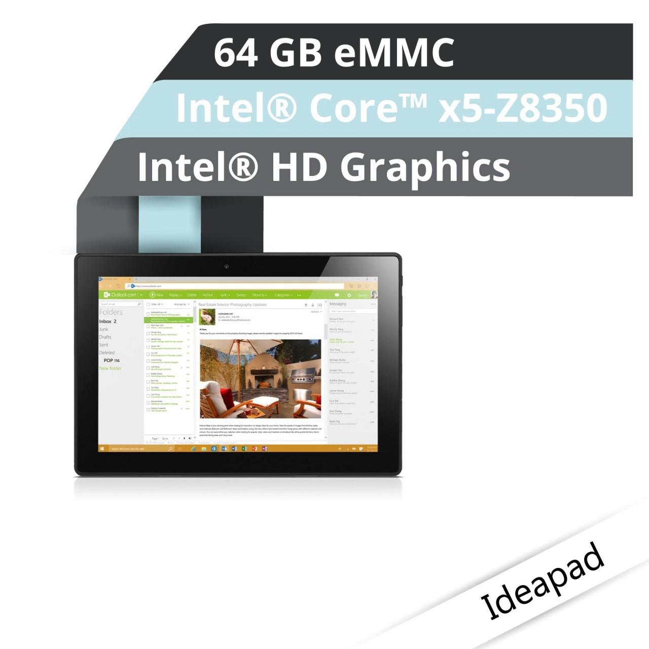 Lenovo™ Miix 310 Tablet Modell 80SG-006A Demoartikel