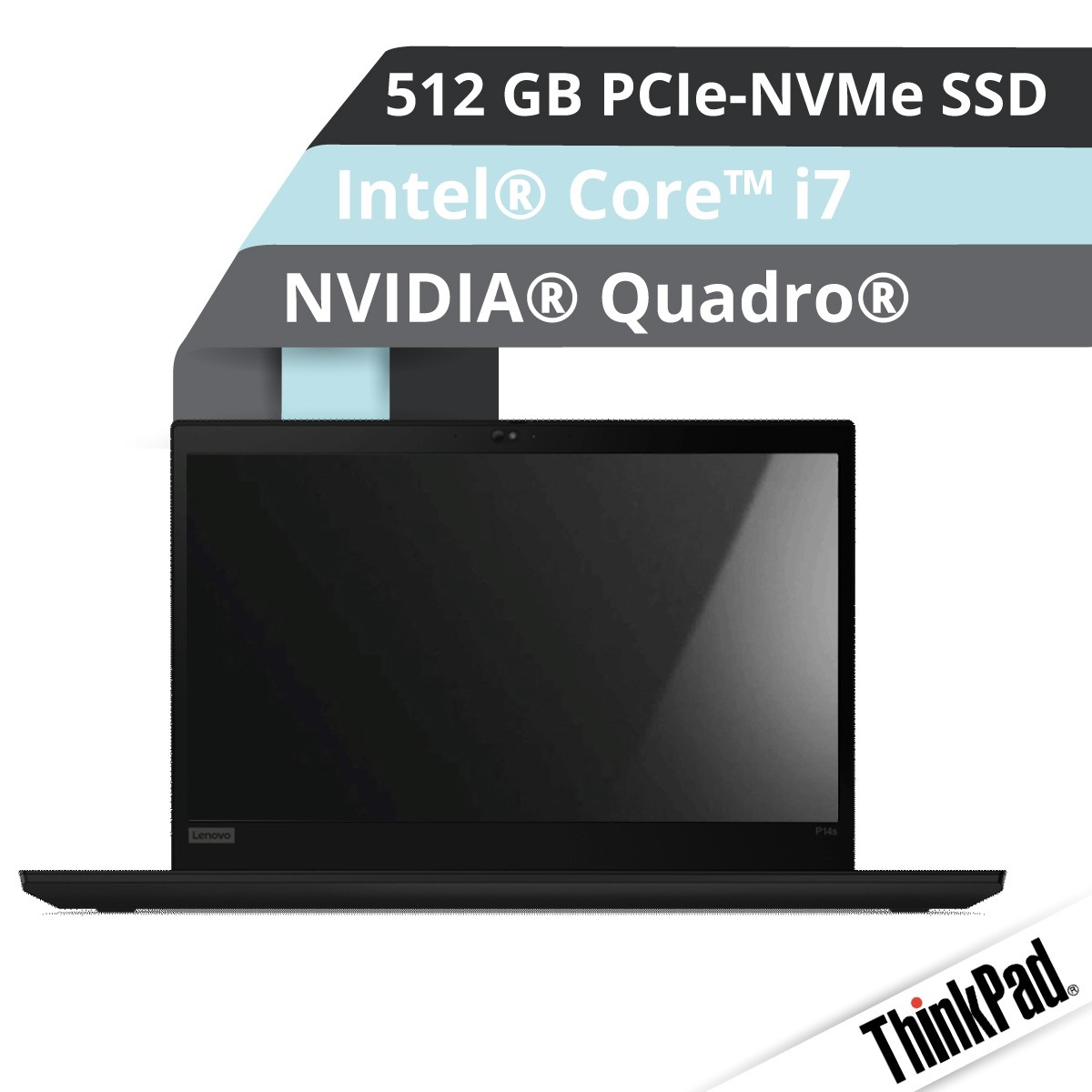 (EOL) Lenovo™ ThinkPad® P15s (Gen.2) Notebook Modell 20W6-000K