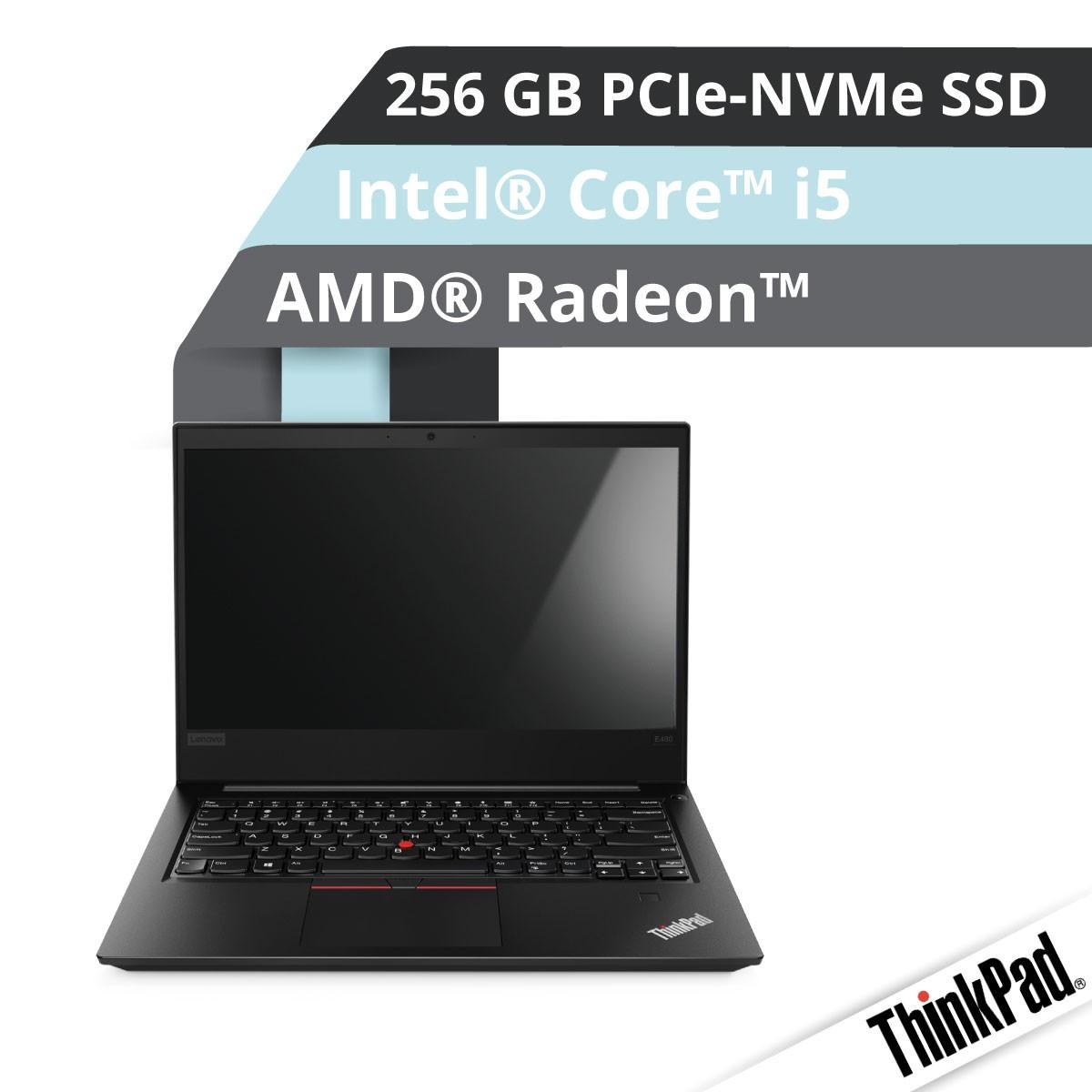 (EOL) Lenovo™ ThinkPad® E480 Notebook Modell 20KQ-S000