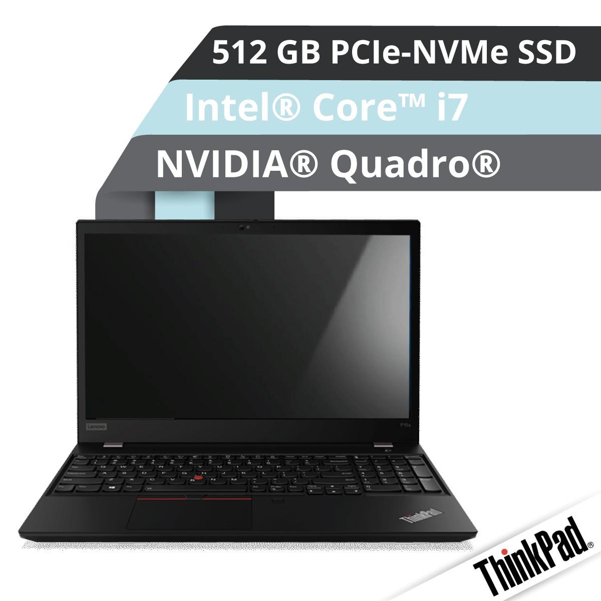 (EOL) Lenovo™ ThinkPad® P15s Notebook Modell 20T4-0008