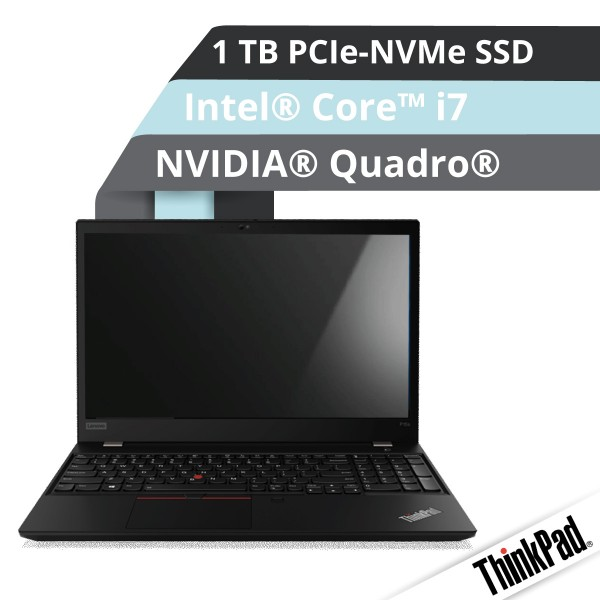 Lenovo™ ThinkPad® P15s Notebook Modell 20T4-000N