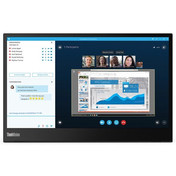 Lenovo™ ThinkVision® M14 Bildschirm Modell 61DD-UAT6