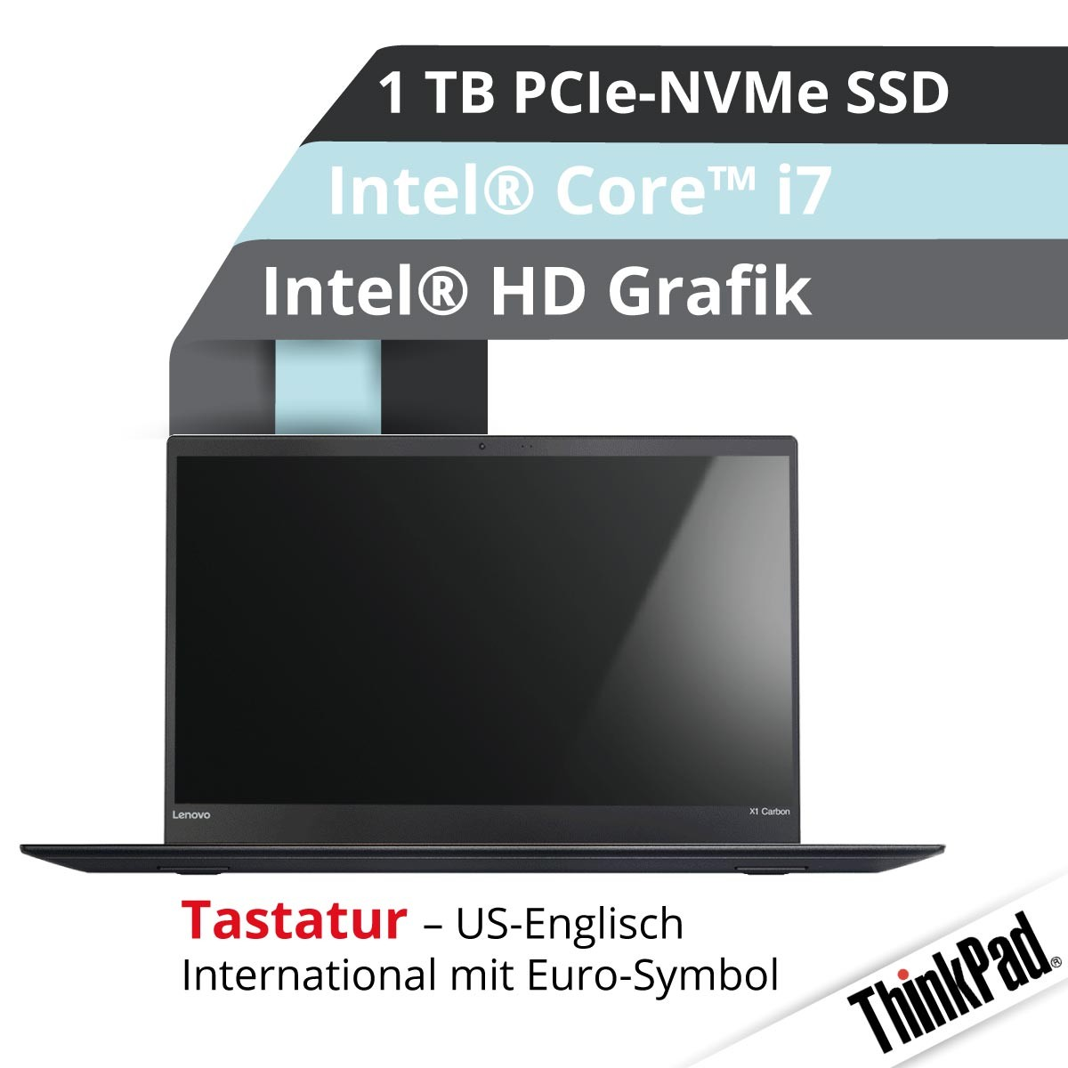(EOL) Lenovo™ ThinkPad® X1 Carbon Ultrabook Modell 20HQ-S42B (US)